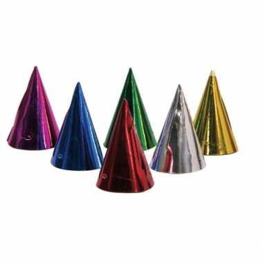 6x feeshoed verschillende kleuren
