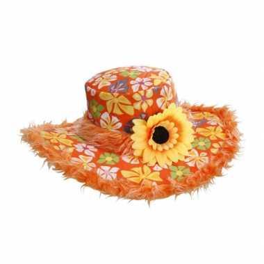 Bloemenhoed voor dames ibiza hoed