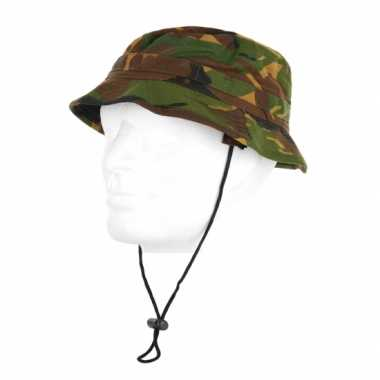 Bush hoed camouflage