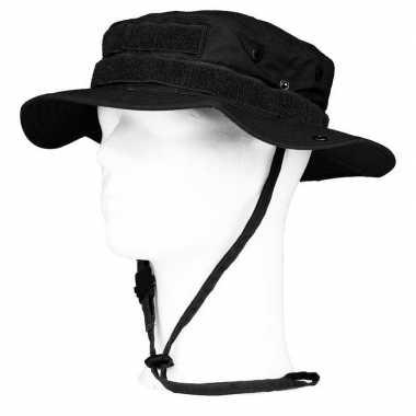 Bush/ranger hoed zwart voor volwassenen