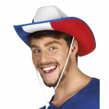 Carnaval cowboyhoed frankrijk hoed
