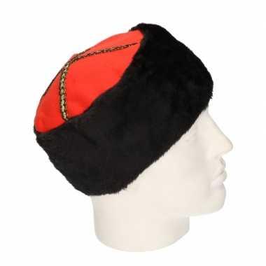 Carnaval kozak hoed voor volwassenen
