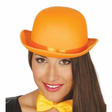 Carnavals luxe bolhoed oranje