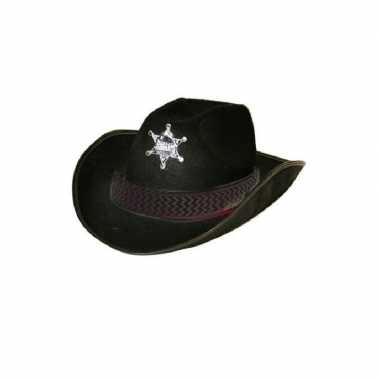 Cowboyhoed sheriff volwassenen