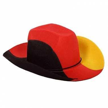 Duitsland feesthoed cowboy hoed
