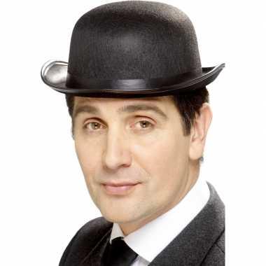 Feest bolhoed zwart hoed