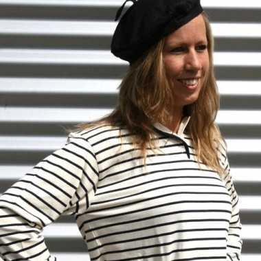 Franse hoed volwassenen 59 cm