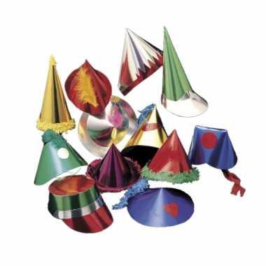 Gekleurd feesthoedje hoed