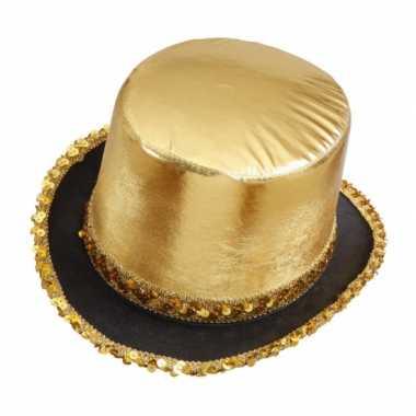 Hoge gouden hoeden