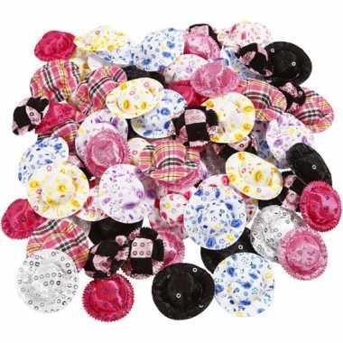 Kleine poppenhoedjes 100 stuks hoed