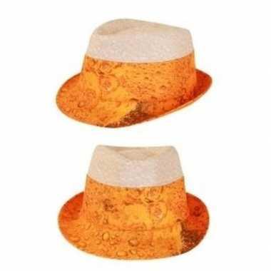 Oktoberfest bier hoed voor volwassenen