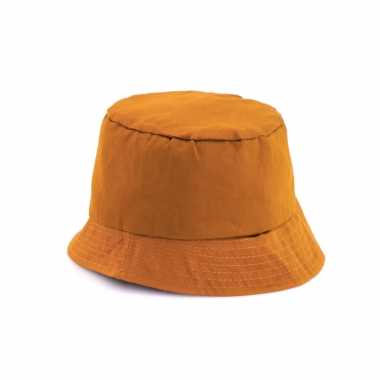 Oranje zonnehoedje voor volwassenen