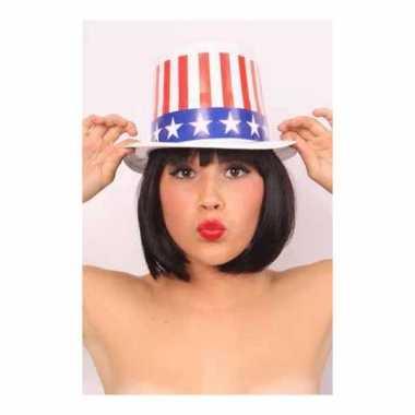Plastic hoed amerika