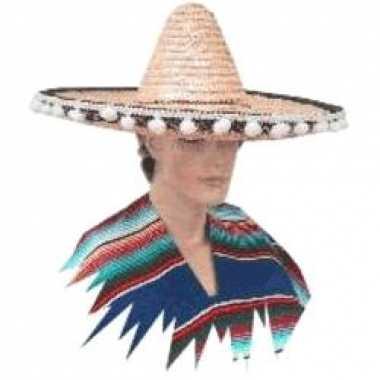 Sombrero verkleed hoed cancun de luxe 55 cm