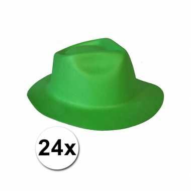 St. patricksday hoedjes van foam 24x