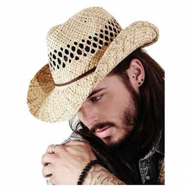 Stro cowboy hoed summer