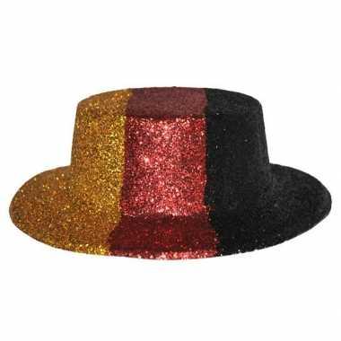 Supporter duitsland glitter hoed