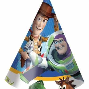 Toy story feest hoedjes 6 stuks