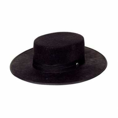 Traditionele spaanse hoeden zwart