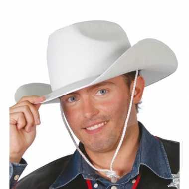 Verkleed cowboy hoed voor volwassenen