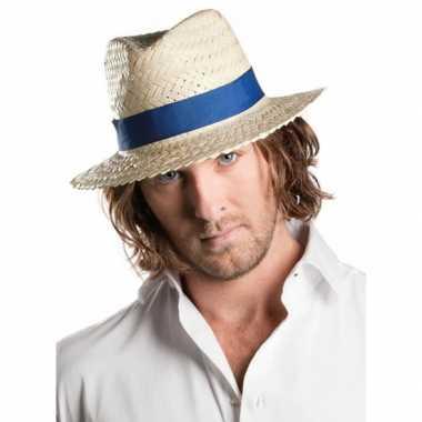 Voordelige panama hoed met band
