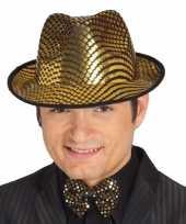Gangster carnavalshoed voor heren hoed