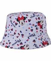 Minnie mouse vissershoedje voor kinderen hoed