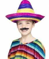Sombrero hoeden gekleurd voor kinderen